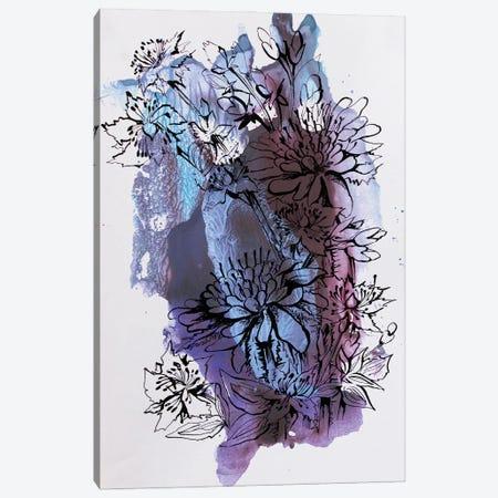 Flowers Canvas Print #KTB113} by Kateryna Bortsova Art Print