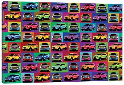 Cadillac Puzzle Canvas Art Print