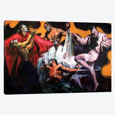 Dance Of Life Canvas Print #KTB11} by Kateryna Bortsova Canvas Art Print