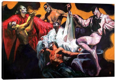 Dance Of Life Canvas Art Print