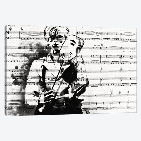 Bowie Heroes Canvas Print #KTB132} by Kateryna Bortsova Canvas Print