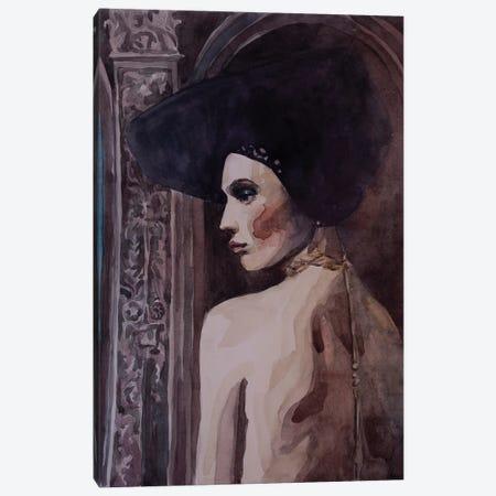 Renaissance Lady Canvas Print #KTB138} by Kateryna Bortsova Art Print