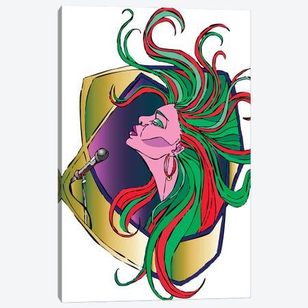 Music Time Canvas Print #KTB162} by Kateryna Bortsova Canvas Wall Art