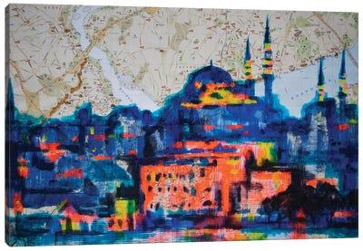 Magic Istanbul Canvas Art Print