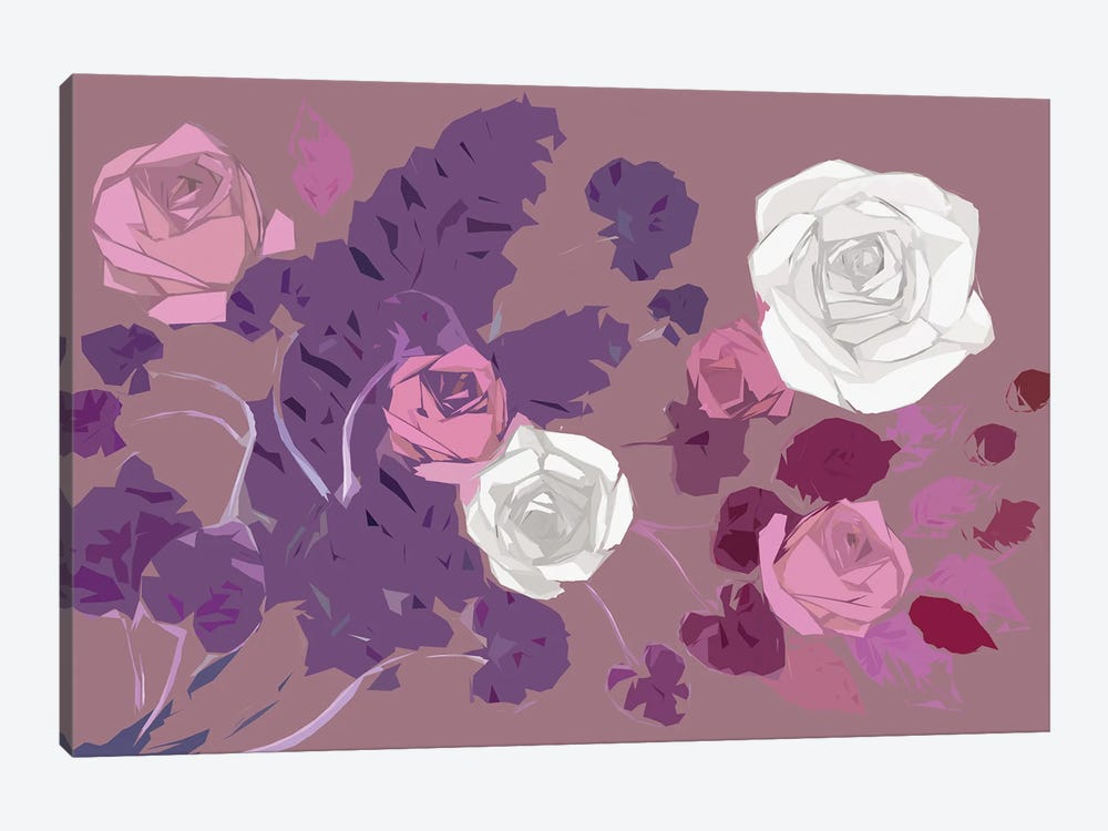 Roses by Kateryna Bortsova 1-piece Canvas Artwork