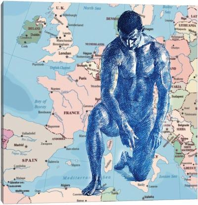 Europe Canvas Art Print