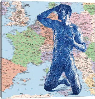 Euro Union Canvas Art Print