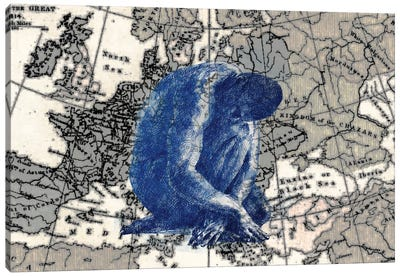 Ancient Europe Canvas Art Print