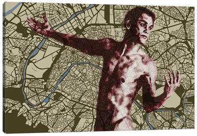 Paris - Mi Amour Canvas Art Print