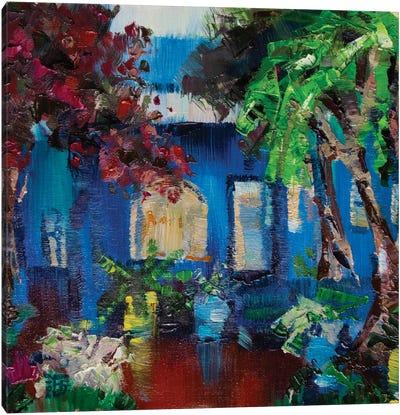 Majorelle Garden Canvas Art Print
