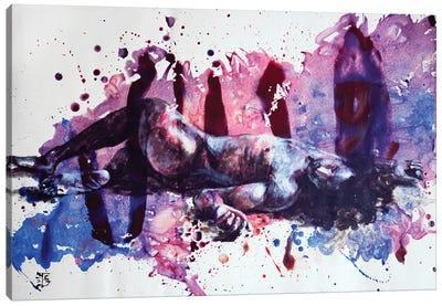 Feeling Broken Canvas Art Print