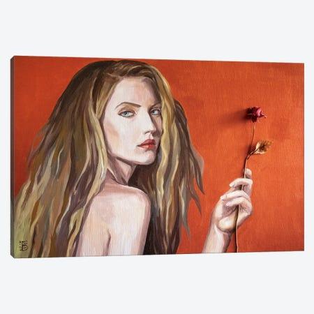 Northern Rose Canvas Print #KTB2} by Kateryna Bortsova Canvas Art