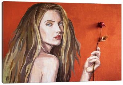 Northern Rose Canvas Art Print