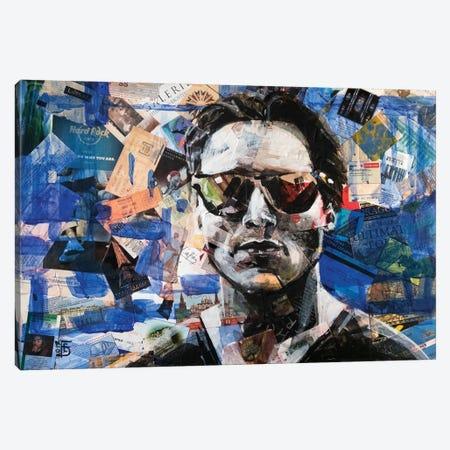 Traveler Canvas Print #KTB30} by Kateryna Bortsova Art Print