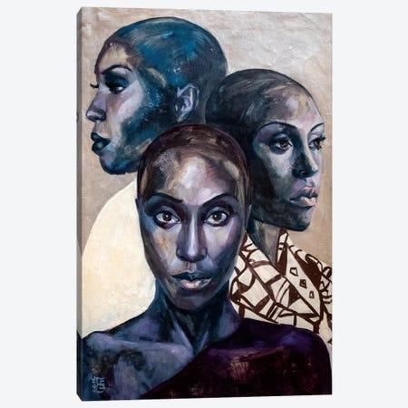 Phenomenal Woman Canvas Print #KTB34} by Kateryna Bortsova Canvas Artwork