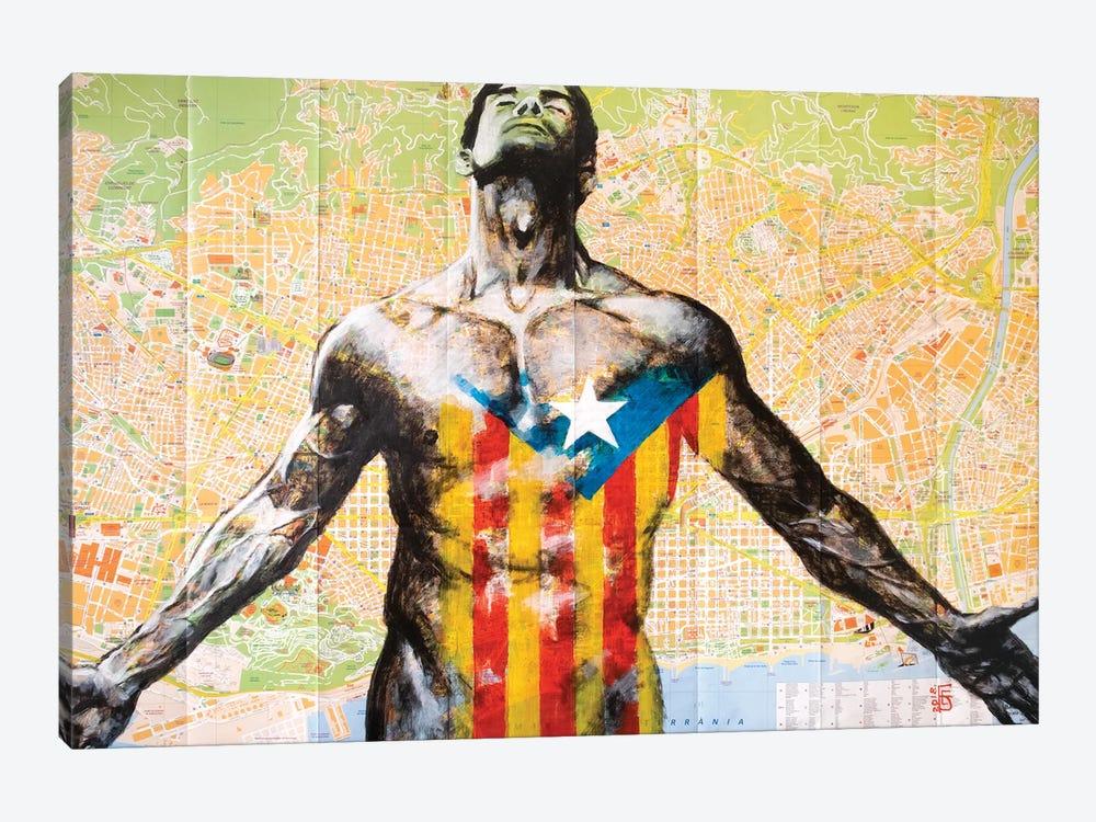 Barcelona by Kateryna Bortsova 1-piece Canvas Print