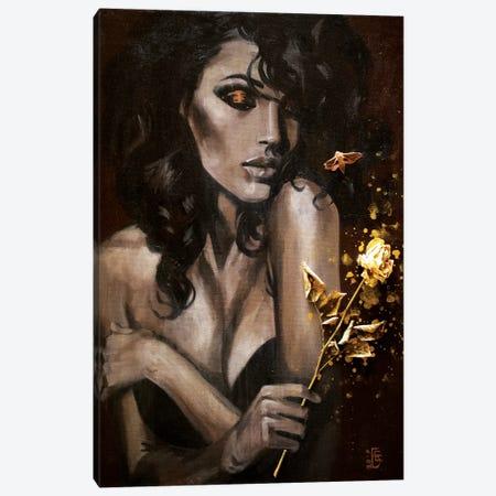 Secrets Of The Night Canvas Print #KTB3} by Kateryna Bortsova Canvas Wall Art