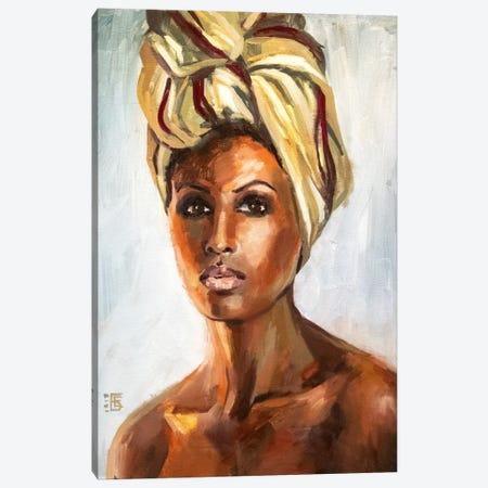 Desert Queen Canvas Print #KTB44} by Kateryna Bortsova Canvas Print