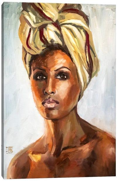 Desert Queen Canvas Art Print
