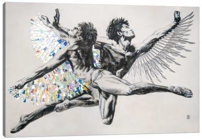 Icarus Canvas Art Print