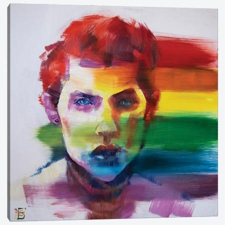 Pride Canvas Print #KTB48} by Kateryna Bortsova Canvas Artwork