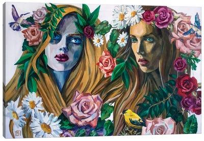 Forest Nymphs Canvas Art Print