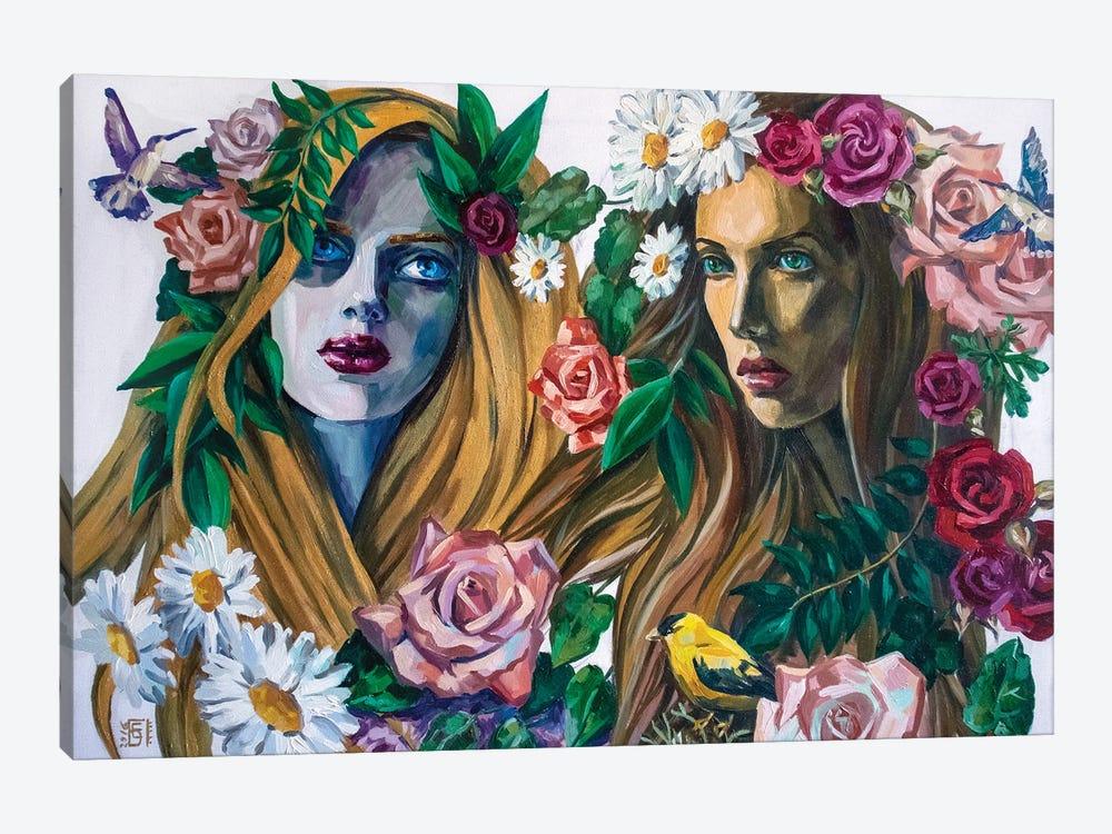 Forest Nymphs by Kateryna Bortsova 1-piece Canvas Wall Art