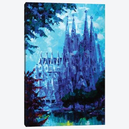 Barcelona Sagrada Familia Canvas Print #KTB53} by Kateryna Bortsova Canvas Art Print
