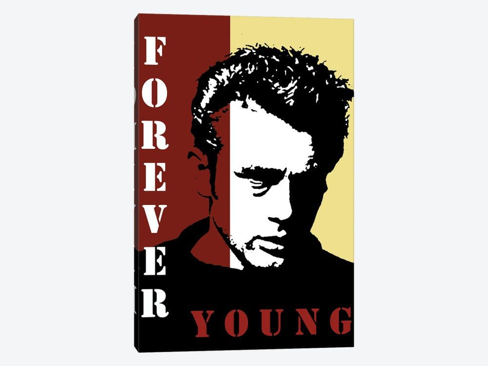 Forever Young James Dean by Kateryna Bortsova 1-piece Canvas Print