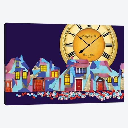 Paper Town Canvas Print #KTB64} by Kateryna Bortsova Canvas Art Print
