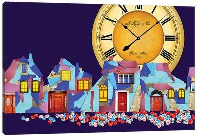 Paper Town Canvas Art Print