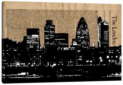 The London Canvas Art Print
