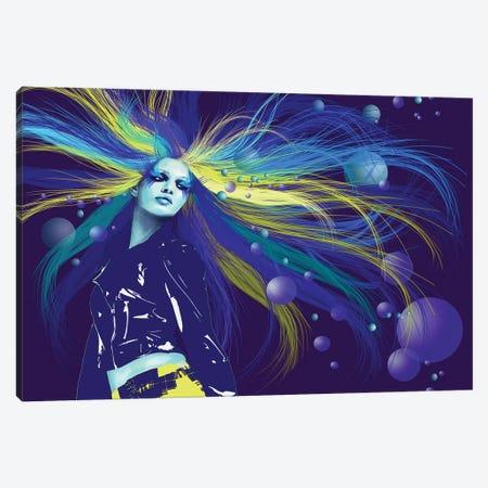 Mermaid Canvas Print #KTB67} by Kateryna Bortsova Art Print