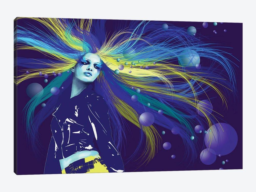 Mermaid by Kateryna Bortsova 1-piece Canvas Art