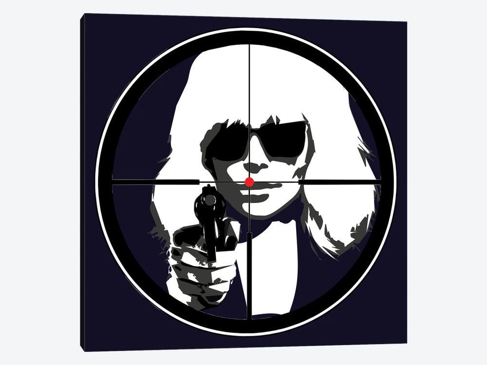 At Gun Point Atomic Blonde by Kateryna Bortsova 1-piece Canvas Print