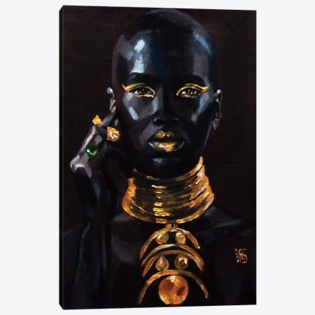 Gold Canvas Print #KTB69} by Kateryna Bortsova Canvas Wall Art