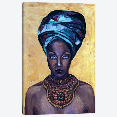 Mystery beauty Canvas Print #KTB72} by Kateryna Bortsova Canvas Art Print