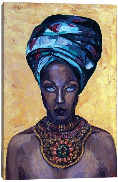 Mystery beauty Canvas Art Print