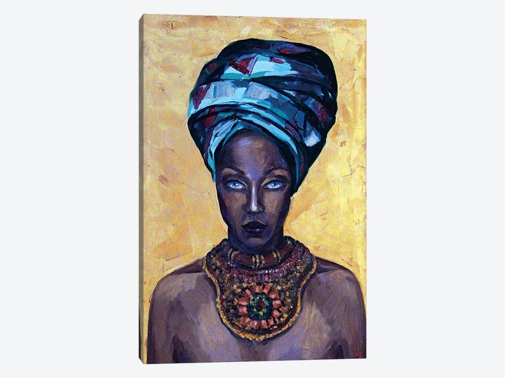 Mystery beauty by Kateryna Bortsova 1-piece Canvas Artwork