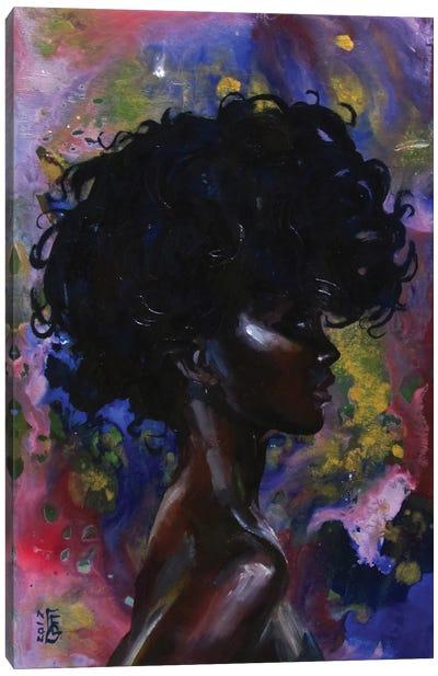 Fashion Girl Canvas Art Print