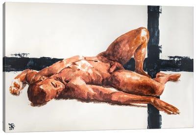 Golden Boy Canvas Art Print