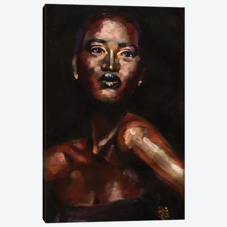 The Night Queen Canvas Print #KTB84} by Kateryna Bortsova Canvas Print
