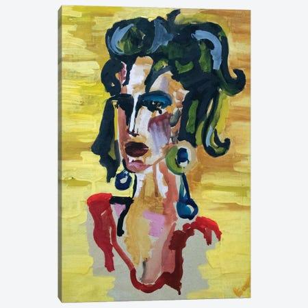 Spanish woman Canvas Print #KTB85} by Kateryna Bortsova Canvas Art Print