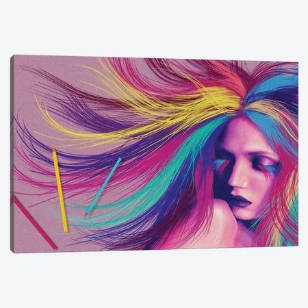 Draw Me Canvas Print #KTB94} by Kateryna Bortsova Canvas Wall Art