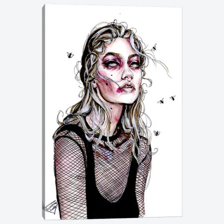Gigi H. Canvas Print #KTC12} by Katerina Chep Canvas Artwork