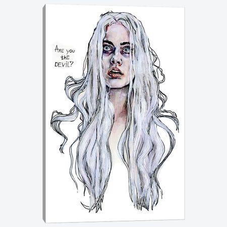 Harley Quinn, S.Q. Canvas Print #KTC18} by Katerina Chep Canvas Wall Art