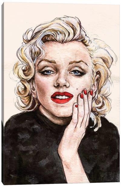 Marilyn M Canvas Art Print