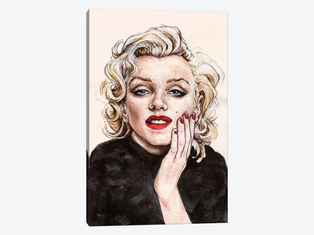 Marilyn M by Katerina Chep 1-piece Canvas Print