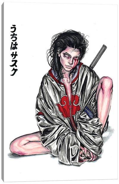 Sasuke Canvas Art Print