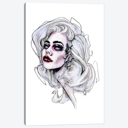 Voschin, YSL Canvas Print #KTC38} by Katerina Chep Canvas Artwork